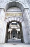 Edirne Selimiye entrance to court