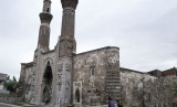 Gök Medrese before restoration