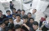 Mugla great mosque kids