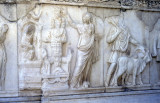 Hierapolis detail in theatre Artemis