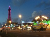 Blackpool, The Tower and Trams