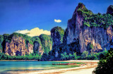 The Limestone Cliffs that Isolate Krabi