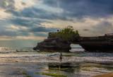 Surfer at Batu Balong
