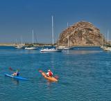Kayaking Morro Bay
