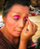 Dancer Doing Make Up