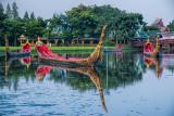 Royal Barges at Ancient City (Mueang Boran)