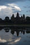 Morning Silhouette of Angkor