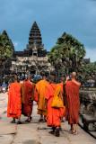 Monks Visit Angkor