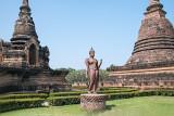 A Rare 'Walking' Buddha