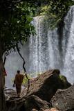 Monk at the Falls