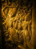 Hand Carved Teak Door