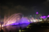 Water & Laser Light Show at Marina Bay Sands