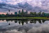 Angkor Wat Under Clouds