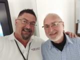 With Dr David Malin