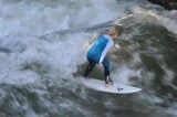 Standing wave in the Eisbach