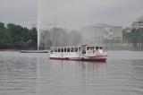 Tour Boat on the inner Alster basin
