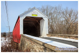 38-09-07 #2 Bucks County, Mood's / Branch Covered Bridge