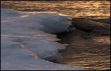 Thin ice-plates - Lake Vänern
