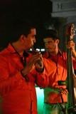 CUBA_3550 Dinner music at Casa Prado