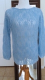 #310 Blue mohair sweater