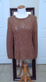 #311 Brown wool blend sweater