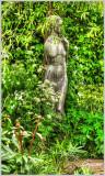 A Statue in the White Garden