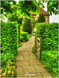 Entrance to the Cottage Garden