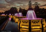 Longwood's Basket Weave Fountains