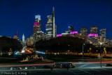 Philadelphia Night Cityscape