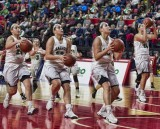 2017-03-03 Seton girls vs SV  Section 4 finals