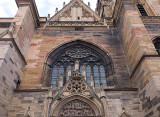 vue partielle de la cathédrale