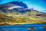 Old Man of Storr and Loch Fada