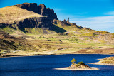 Trotternish Peninsula - with Loch Fada
