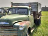 Serious dump truck