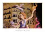 Spain - Valencia - Las Fallas festival - Papier Maché figure