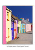 Ireland - Co.Cork - The colourful village of Eyeries on the Beara Peninsula