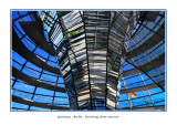 Germany - Berlin - Reichstag dome interior - View from base