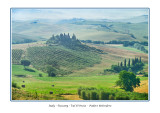 Italy - Tuscany - Val DOrcia -  Podere Belvedere