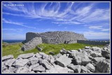 Ireland - Co Galway - Aran Islands - Inis Mor - Dun Eochla fort.