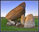 Ireland - Co.Carlow - Brownshill Dolmen.
