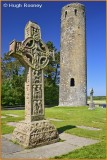 Ireland - Co.Offaly - Clonmacnoise - Cross of the Scriptures.