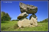 Ireland - Co.Longford - Aughnacliffe Dolmen.