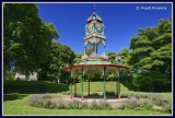 Ireland - Co.Fermanagh - Enniskillen - Plunketts Bandstand.
