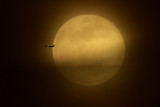 Super moon with Jet 2