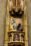Naaldenstraat 19- Hof Bladelin - Zittende Maria met Kind