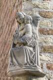Jeruzalemstraat 1 X Carmersstraat - Maria met Kind