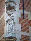 Korte Riddersstraat X Engelsestraat -  Staande Maria met Kind