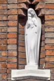 Stijn Streuvelsstraat 57 - Staande Maria met Kind