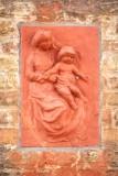 Goezeputstraat 31 x Oostmeers - zittende Maria met Kind