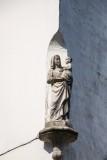 Nieuwstraat 11 X Dijver - staande Maria met Kind